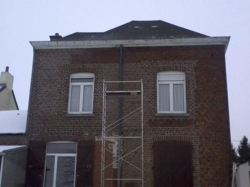 Rejointoiement d une fa ade sur 14 m2 entreprise de for Entreprise renovation facade